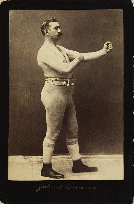 19th Century Photograph - John L. Sullivan (1858-1918) by Granger