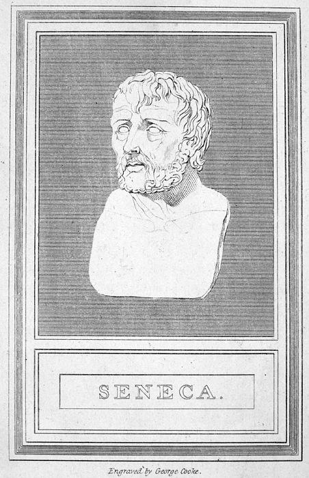 1st Century Photograph - Lucius Annaeus Seneca by Granger