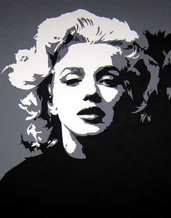 Marilyn Monroe Painting - Marilyn by Michael James Toomy