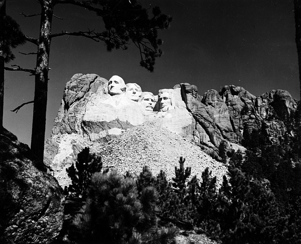 1930s Photograph - Mount Rushmore by Granger