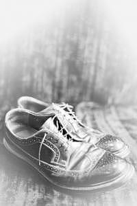 My Grand Fathers Shoes Photograph by Bryant Johnson