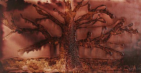 Trees Mixed Media - My Serenity Series by Neil  Medlin