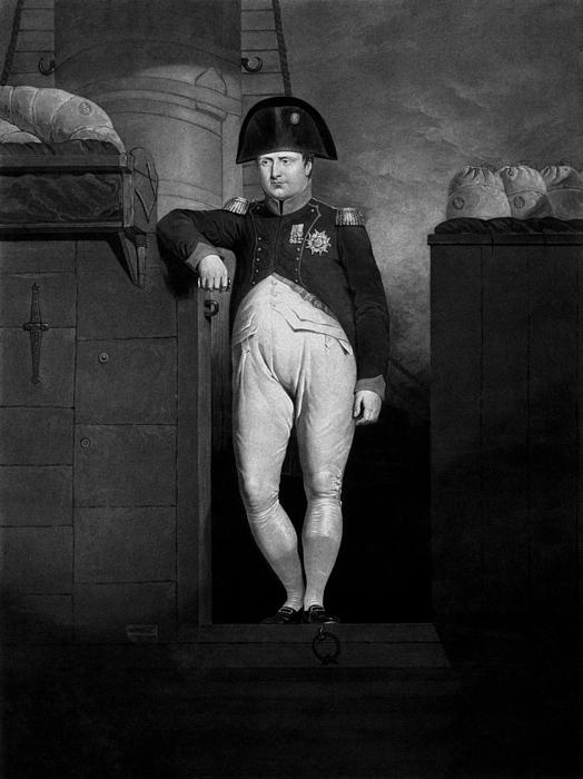 Napoleon Mixed Media - Napoleon Bonaparte by War Is Hell Store