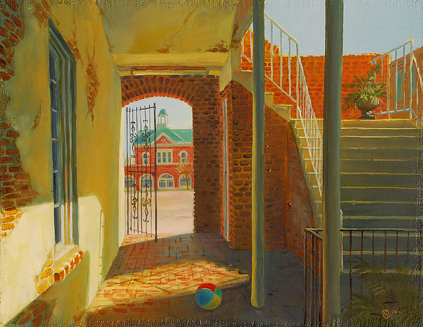 Old House Painting by Marina Bare