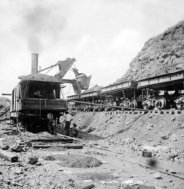 Panama Canal Photograph - Panama Canal - Construction - C 1910 by International  Images