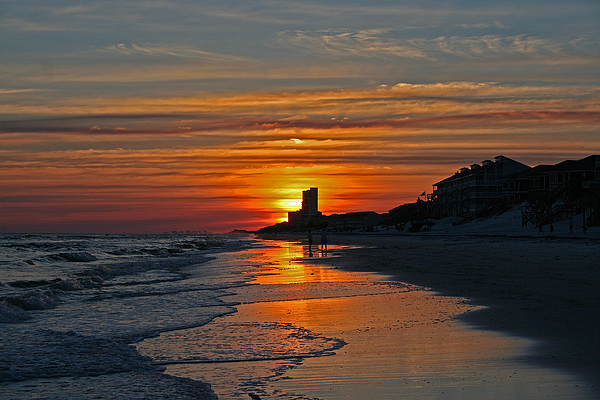 Beach Photograph - Seagrove Beach by David Campbell
