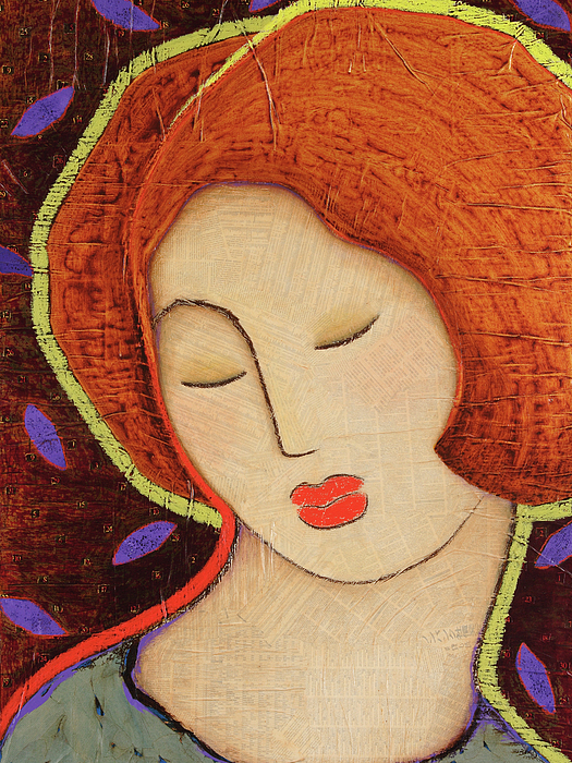 Icon Painting - Soul Memory by Gloria Rothrock