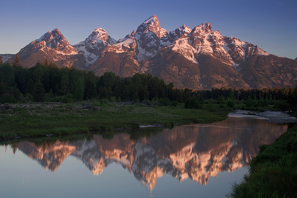 Grand Teton Photograph - Teton Reflections by Andrew Soundarajan