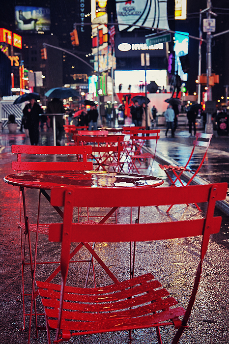 New York City Photograph - Times Square by Benjamin Matthijs
