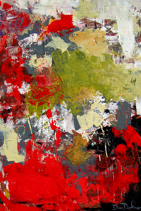 Contemporary Arts Painting - Untitled by Diane Desrochers