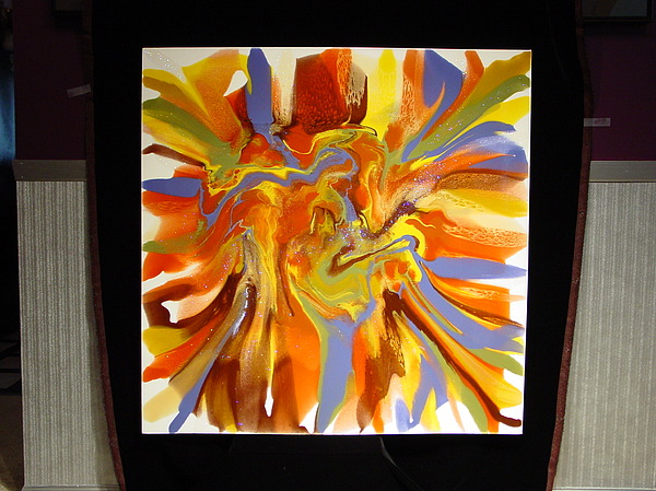 Abstract Painting - Untitled by Michael  Simon