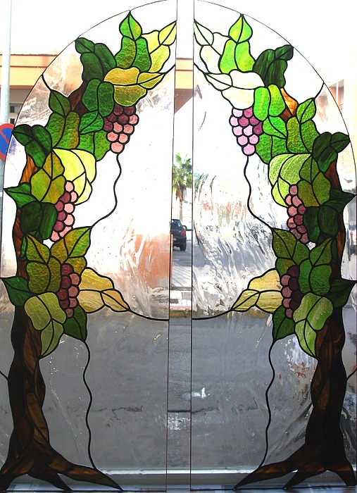 Uvas Glass Art - Winogrona by Justyna Pastuszka