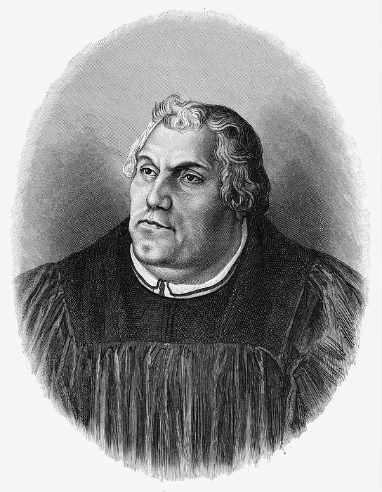 15th Century Photograph - Martin Luther (1483-1546) by Granger