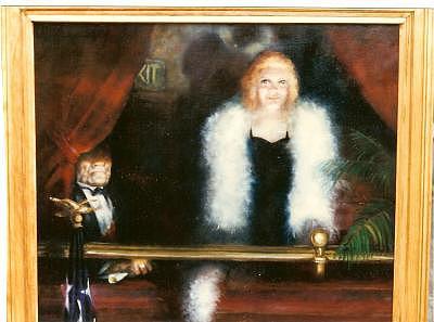 Movie Star Painting - Movie Star by Gerald Wolfert