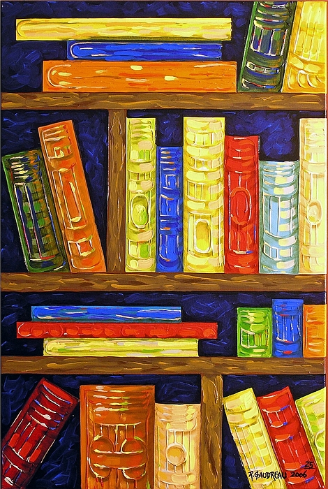 Abstract Expressionism Painting - 25 Books by Robert Gaudreau