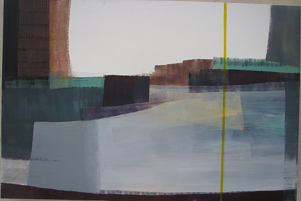 Untitle Painting by Maral Jafarian