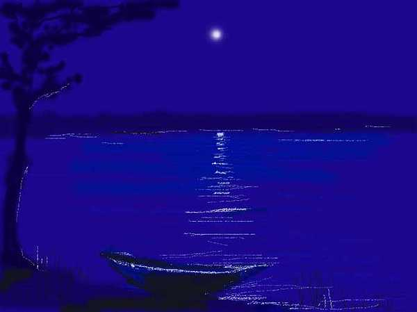 Night Digital Art - In The Night by Mousumi Mani