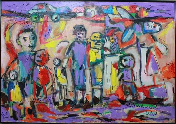 Paintings Painting by Ibrahim El tanbouli