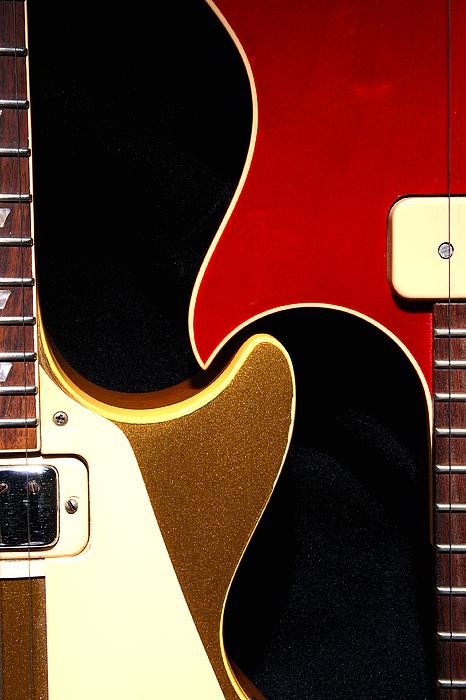 Guitar Photograph - 2lp 1 by Art Ferrier