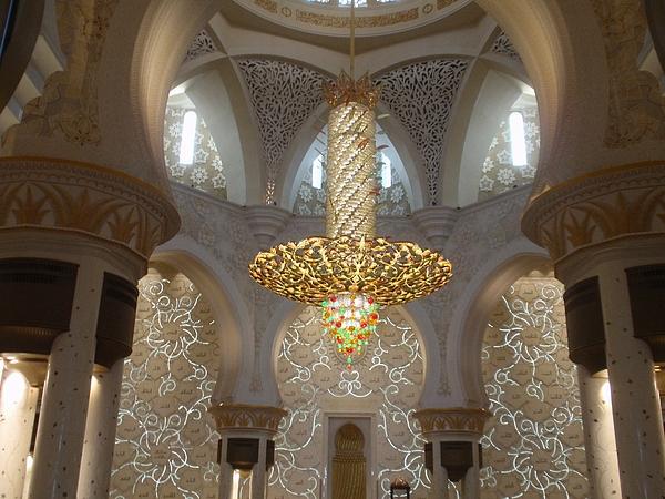 Abu Dhabi Photograph - Abu Dhabi Sheikh Zayed Mosque by Valia Bradshaw