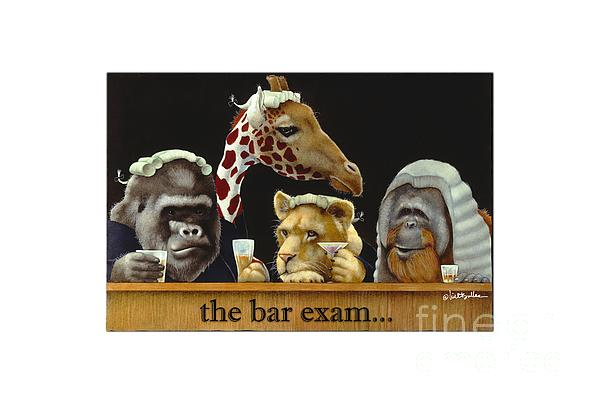 Will Bullas Painting - Bar Exam... by Will Bullas