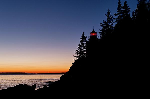 Maine Photograph - Bass Harbor Lighthouse by John Greim
