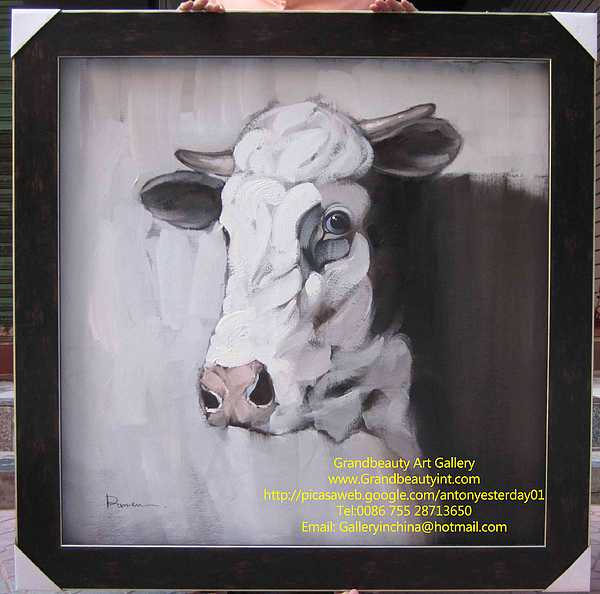 Cow Painting - Cow by Darren