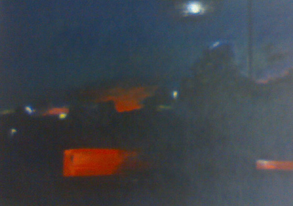 Cities At Night Painting - God In All Form by Rebati  Pani