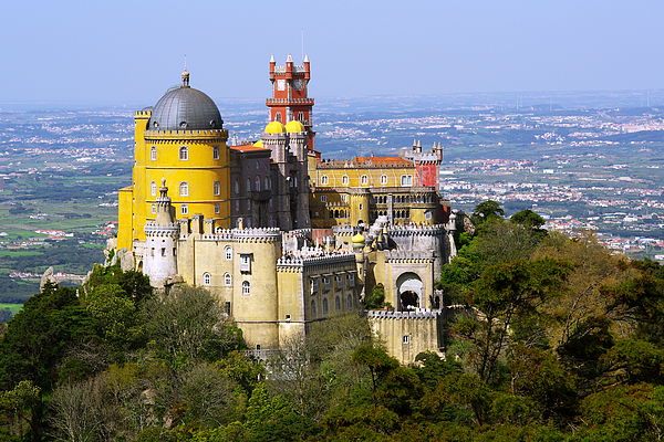 Arabian Photograph - Pena Palace by Carlos Caetano