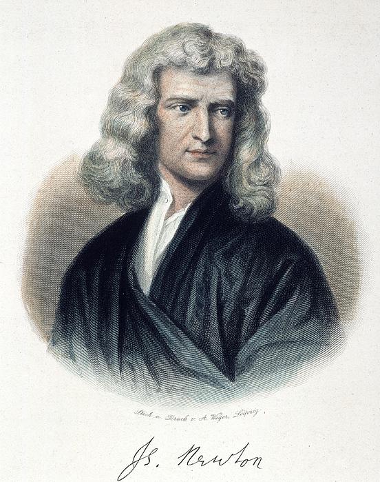 newton 1642