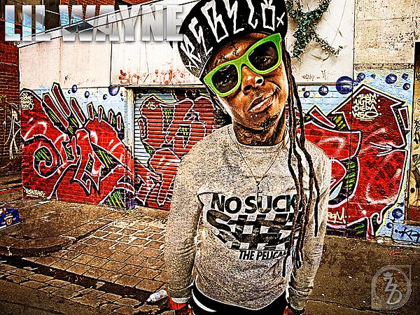 Little Wayne Digital Art - Street Phenomenon Lil Wayne by The DigArtisT