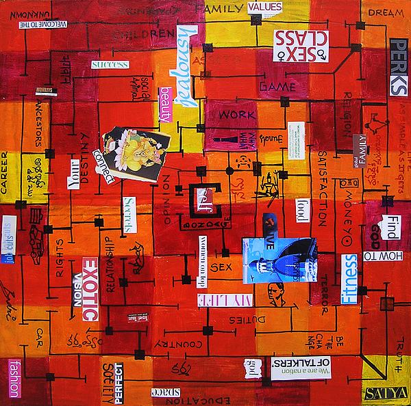 Life Painting - Untitled by Badri J