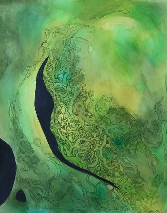 Untitled Painting by Destiny Schwartz