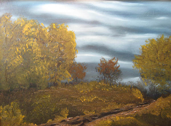 Landscape Painting - Untitled by Todd Androy