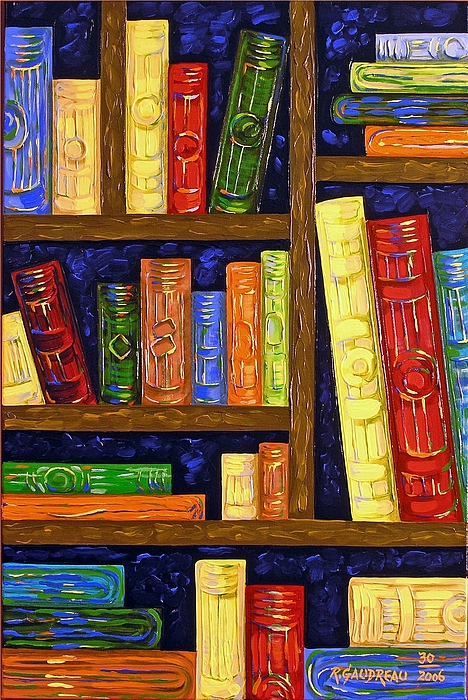 Abstract Expressionism Painting - 30 Books by Robert Gaudreau