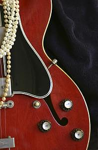 Guitar Photograph - 330 II by Tom Dell