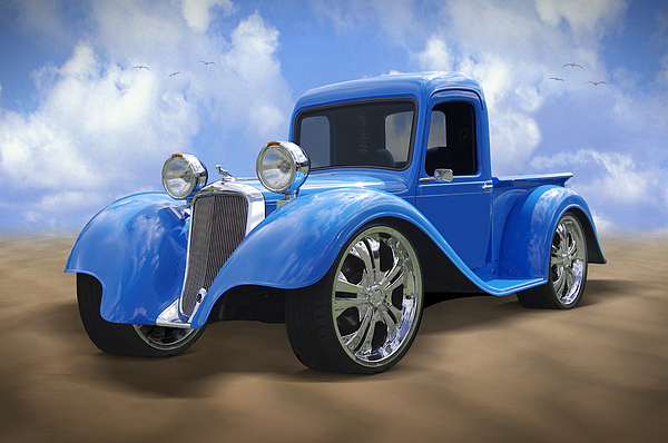Dodge Photograph - 34 Dodge Pickup by Mike McGlothlen