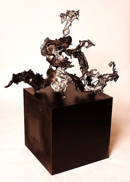 Scream Sculpture by Jerry Schmidt