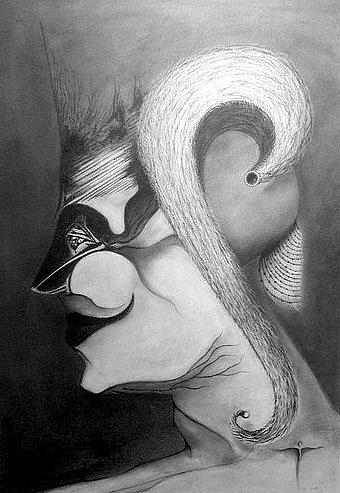 . Drawing by James Lanigan Thompson MFA
