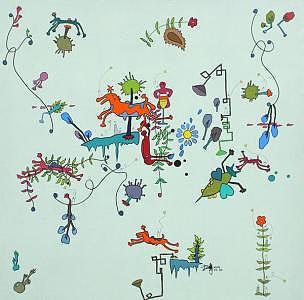 Sweet Journey Painting by Fang Yixiu