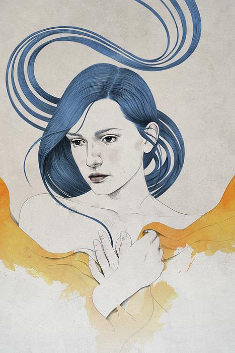 Woman Digital Art - 399 by Diego Fernandez