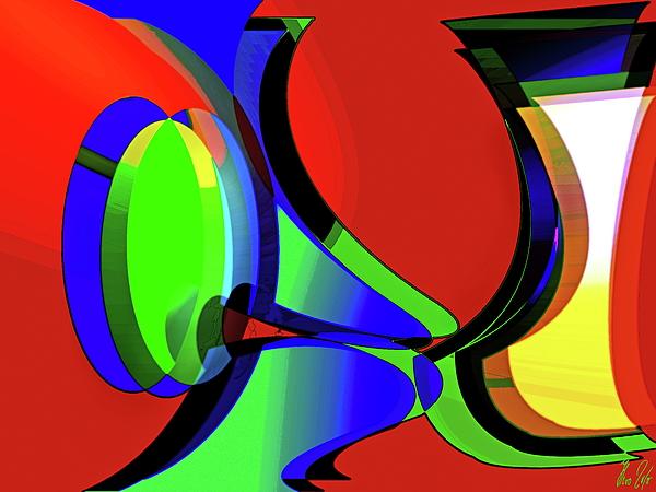 Curious Digital Art - 3d-curiosity Of Science by Helmut Rottler
