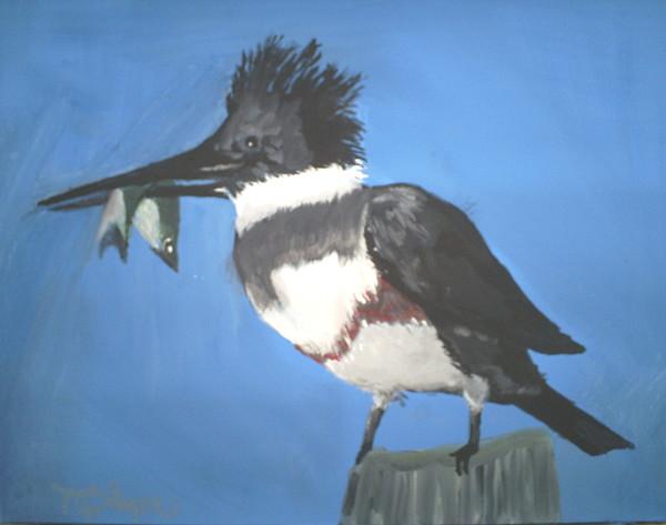 Bird Painting - Bird by Margaret Palmer