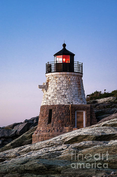 Castle Hill Lighthouse Photograph - Castle Hill Lighthouse by John Greim