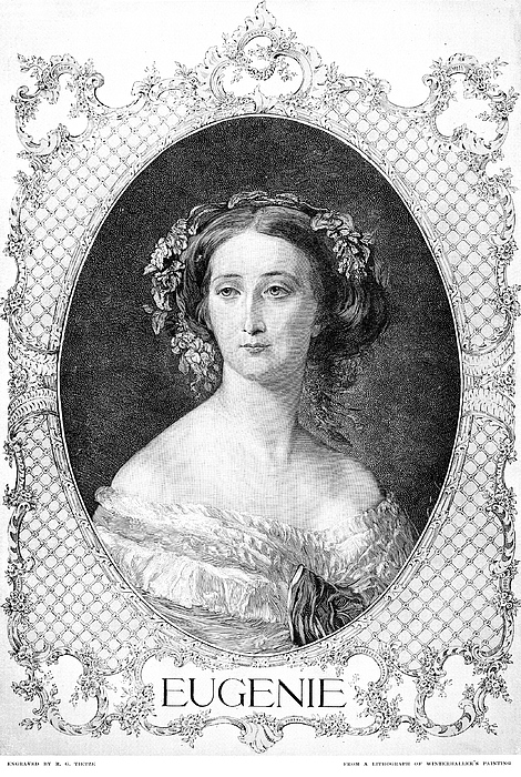 19th Century Photograph - Empress Eugenie Of France by Granger