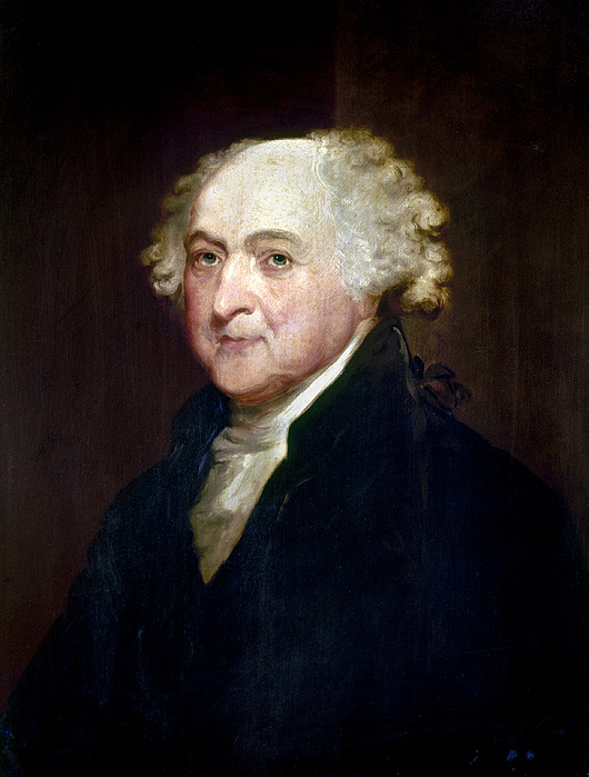 1800 Photograph - John Adams (1735-1826) by Granger