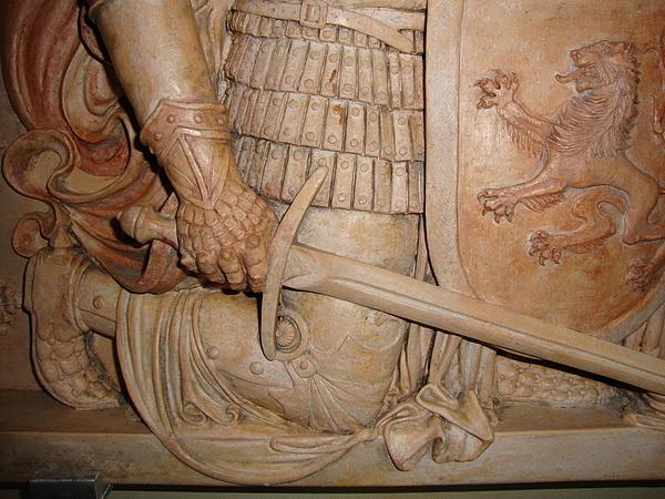 Sculpture Sculpture - John Of Arc Detail by Goran Gecovski
