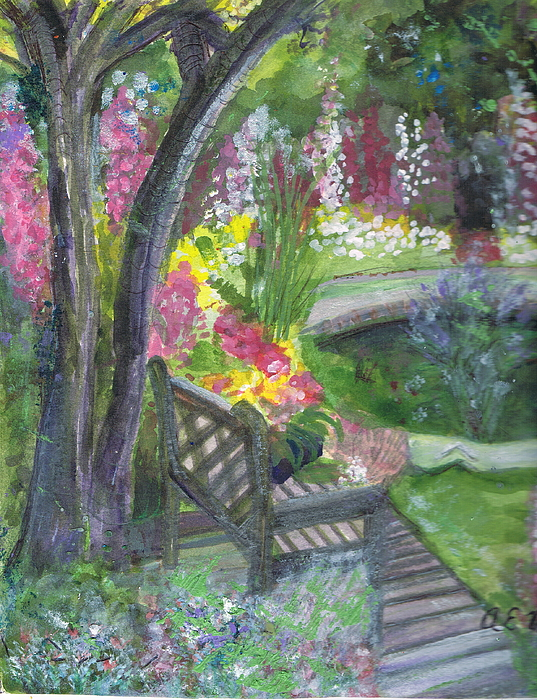 Flowers Painting - Oh How I Miss You by Anne-Elizabeth Whiteway