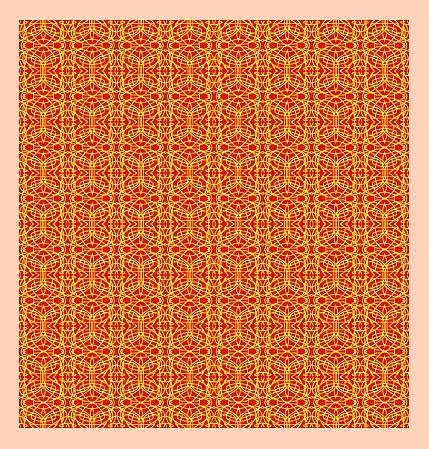 Surface Pattern Design Painting - Original Pattern by Mohammad Safavi naini
