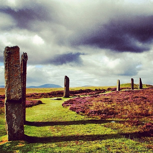 Stones Photograph - Ring Of Brodgar by Luisa Azzolini